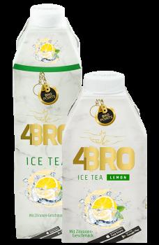 4BRO Eis Tee  mit Zitronen-Geshmack, 500ml