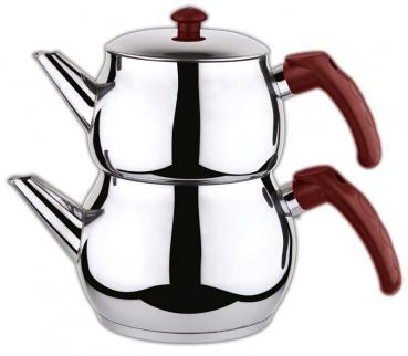 Liza Teekanne Set für Türkischer Tee, Mini