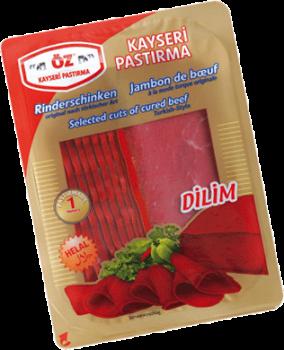 Öz Kayseri Rinderschinken in Scheiben, 100gr